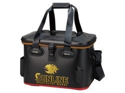 画像1: サンライン (SUNLINE) 【20%OFF】 獅子タックルバッグ 40cm SFB-0639 (ブラック)